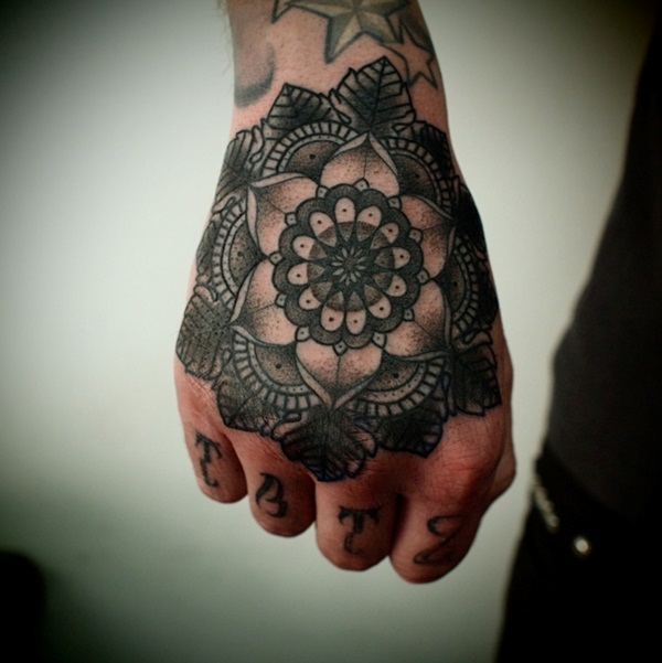 mandala tattoo designs for girls50