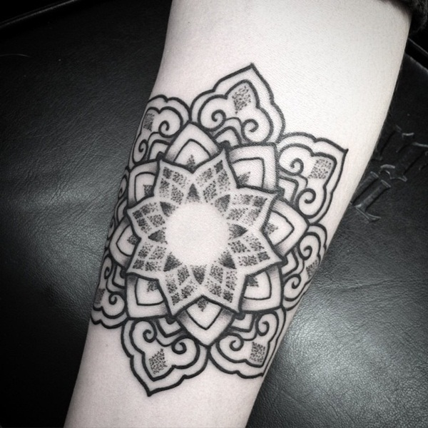 mandala tattoo designs for girls60