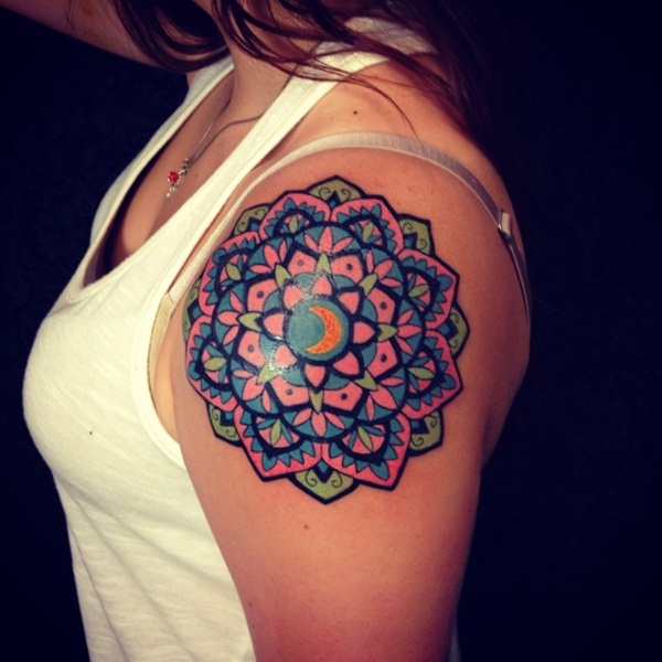 mandala tattoo designs for girls61