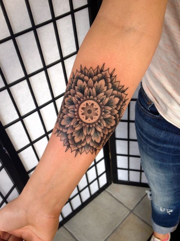mandala tattoo designs for girls63