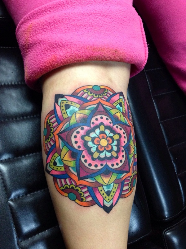 mandala tattoo designs for girls65