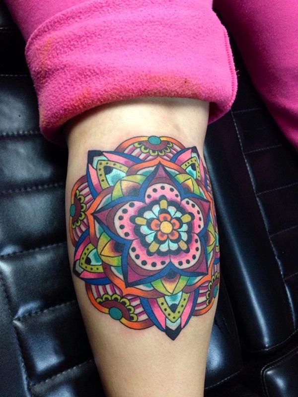 mandala tattoo designs for girls65
