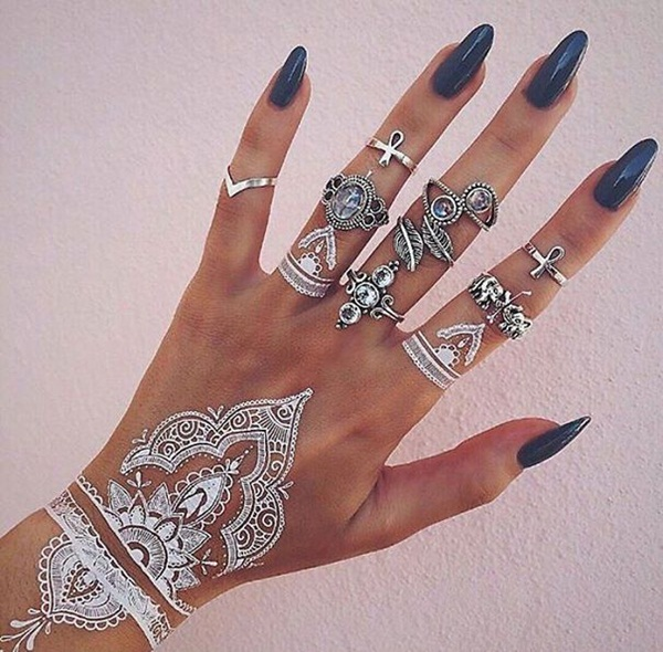 metallic tattoo designs for women6