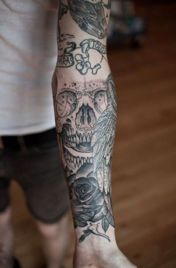 skull tattoo designs for boys and girls11