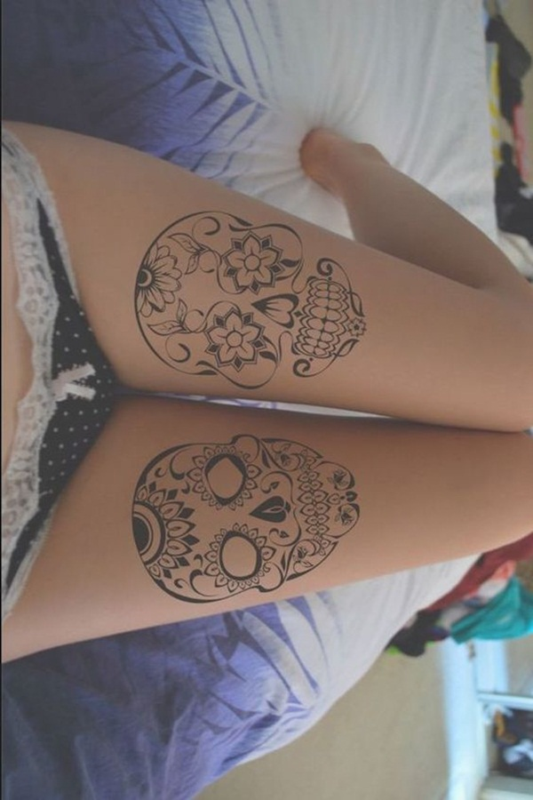 skull tattoo designs for boys and girls21