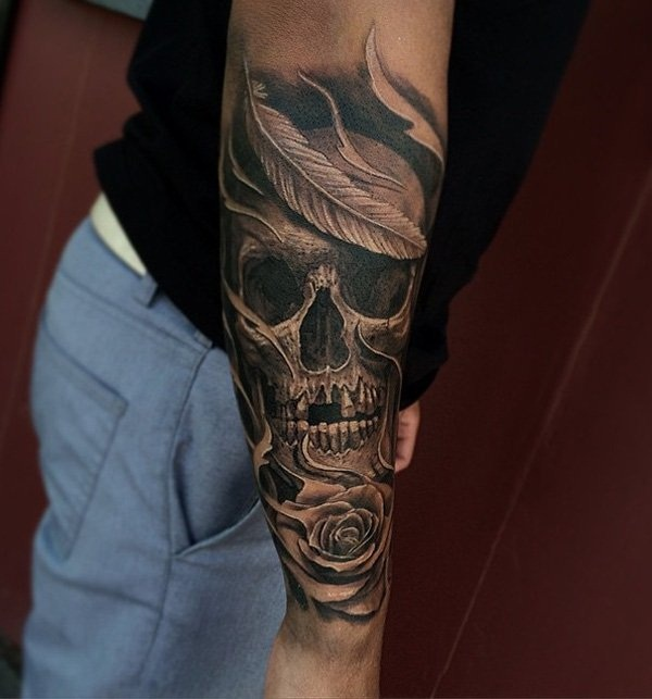 skull tattoo designs for boys and girls30