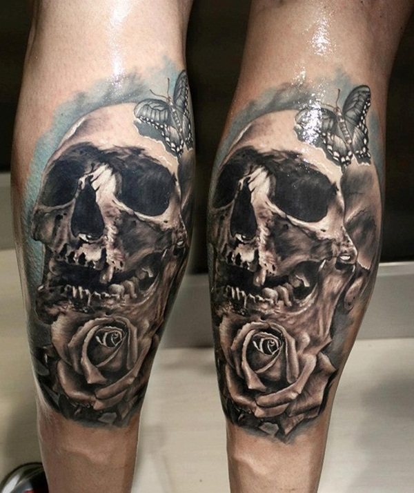 skull tattoo designs for boys and girls33