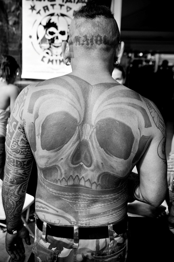 Back Scull Tattoos, Back Scull Tattoo, Scull Tattoos, Scull Tattoo, Tattoos, Tattoo, Back, Scull, http://tattoodesignsof.blogspot.com