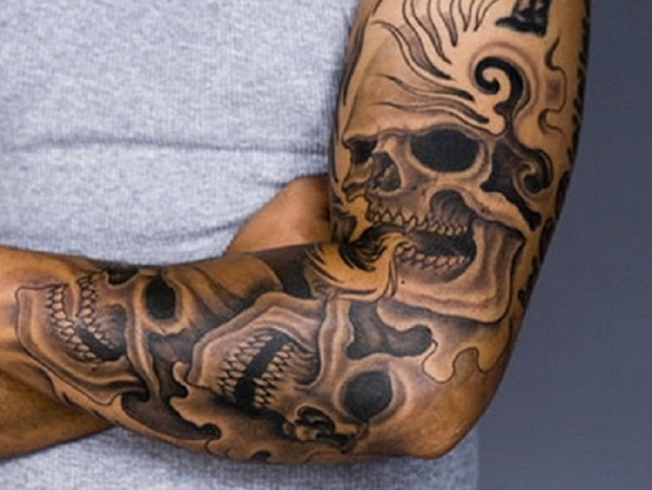 skull tattoo designs for boys and girls44