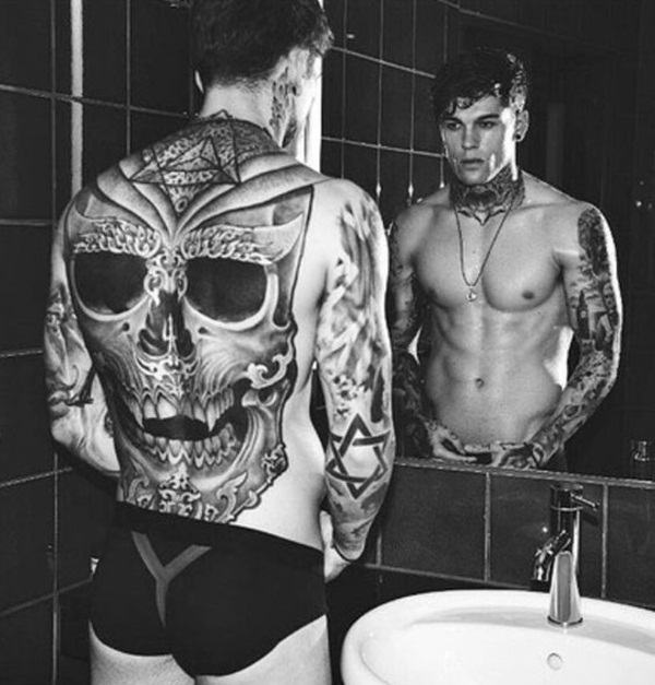 skull tattoo designs for boys and girls51
