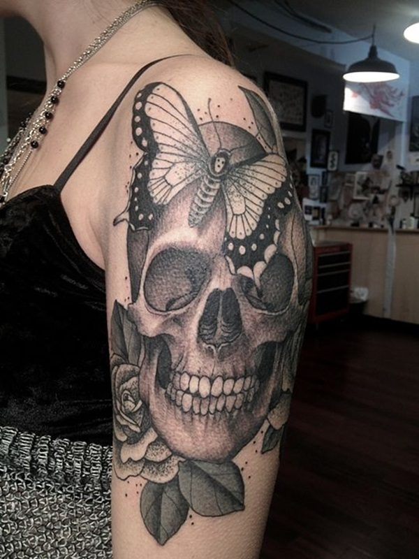 skull tattoo designs for boys and girls68