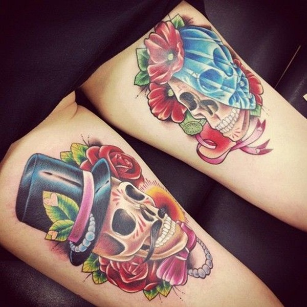 skull tattoo designs for boys and girls70