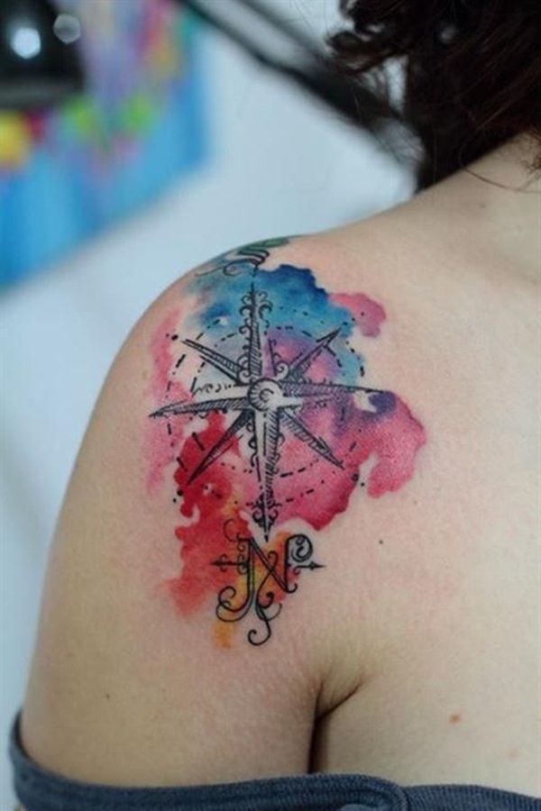 water color tattoo design and ideas13