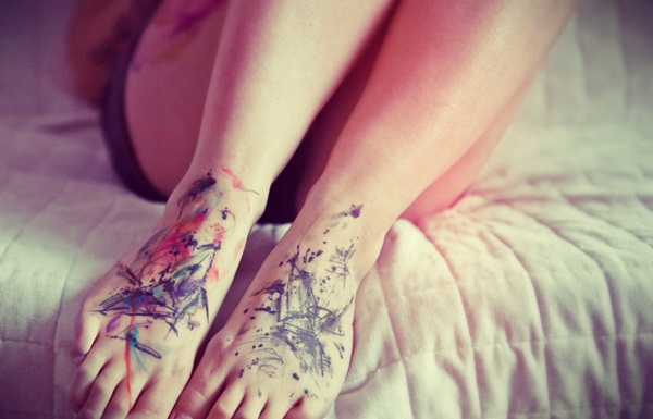 water color tattoo design and ideas20