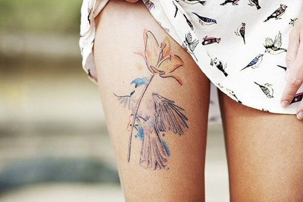 water color tattoo design and ideas23