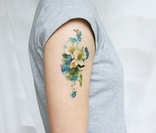 water color tattoo design and ideas34