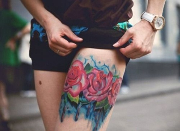 water color tattoo design and ideas37