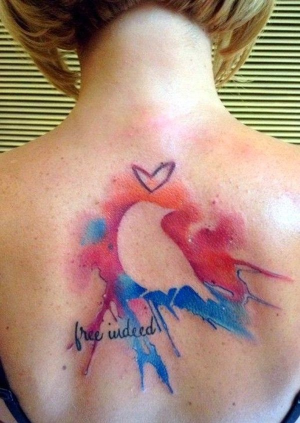 water color tattoo design and ideas38
