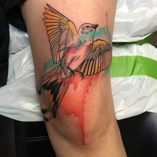 water color tattoo design and ideas43