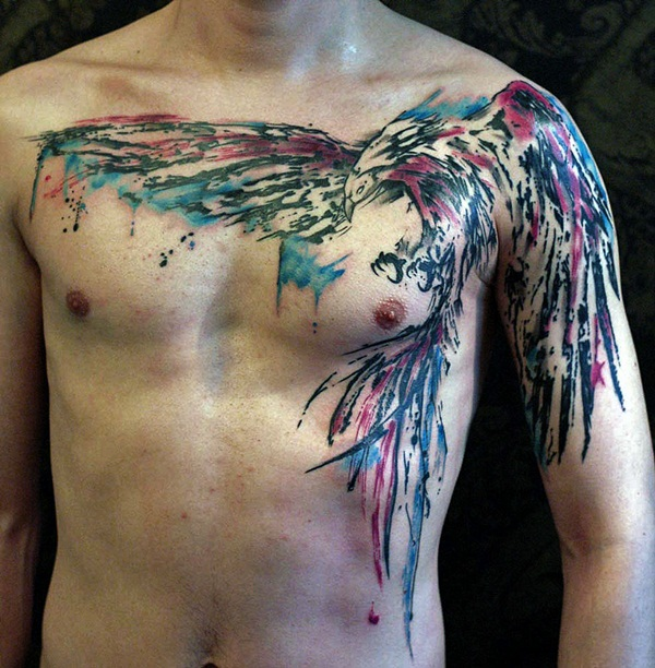 water color tattoo design and ideas51