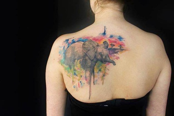 water color tattoo design and ideas60