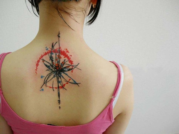 Watercolor Tattoo Creative Designs