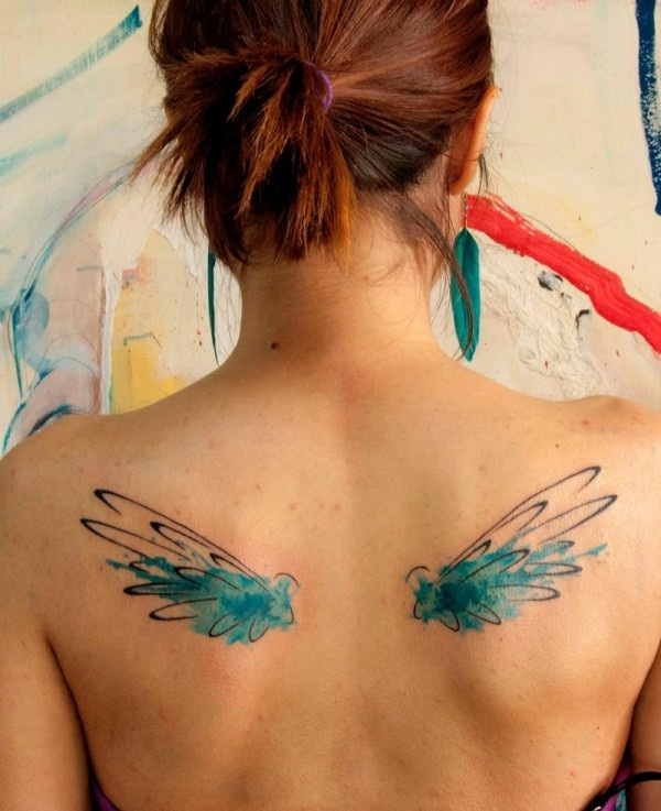 water color tattoo design and ideas69