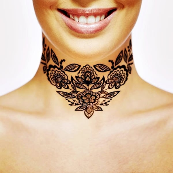 Lace Tattoos Designs and Ideas (55)