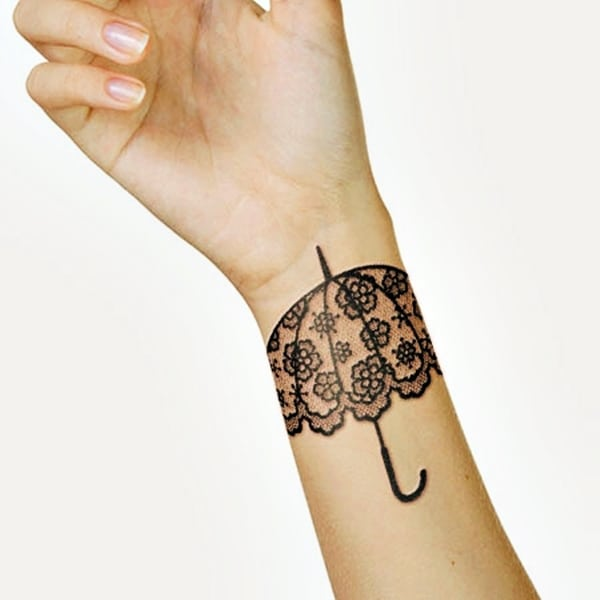 Lace Tattoos Designs and Ideas (56)