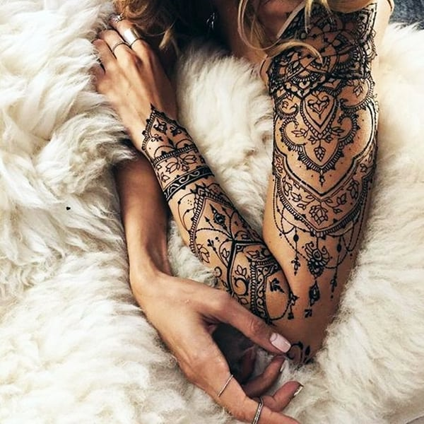 Lace Tattoos Designs and Ideas (62)