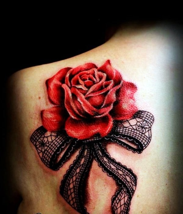 Lace Tattoos Designs and Ideas (70)