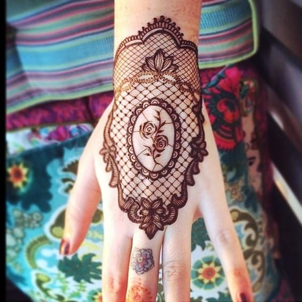 Lace Tattoos Designs and Ideas (79)