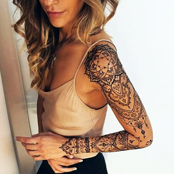 Lace and Vine Tattoos