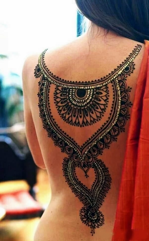 Lace Tattoos Designs and Ideas (87)