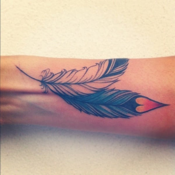 81 Cute Feather Tattoo Ideas For Your First Tattoo