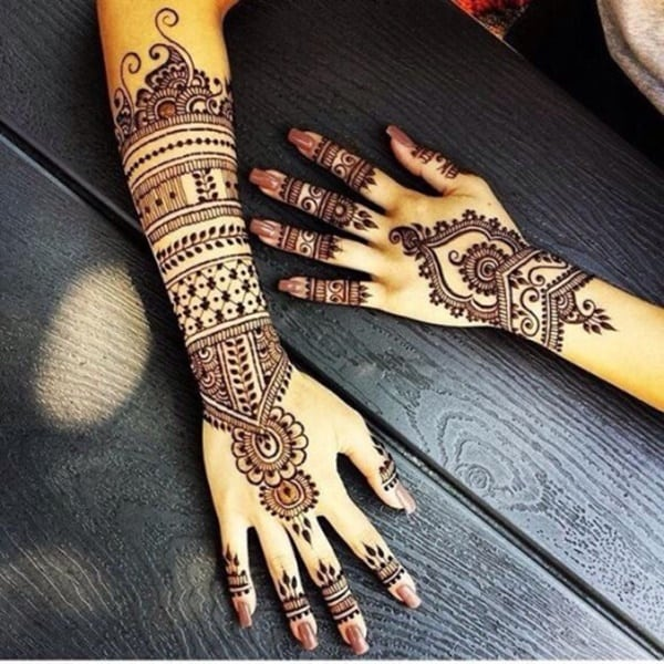 Henna Style Tattoo: 175+ Beautiful Henna Tattoo Ideas For Girls To Try At