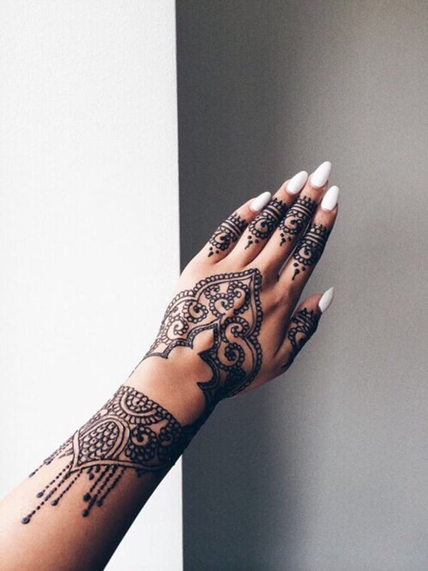 Cute Henna Tattoo Designs: 175+ Beautiful Henna Tattoo Ideas For Girls To Try At