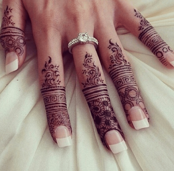 Elegant Henna Designs: 99 Beautiful Henna Tattoo Ideas For Girls To Try At Least Once