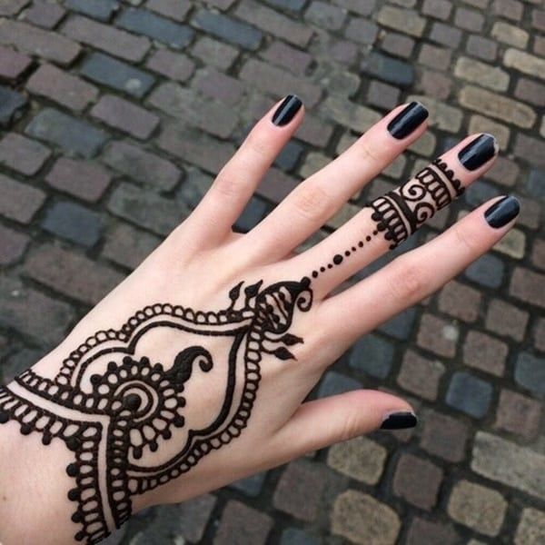 47f91a1ab349c 175+ Beautiful Henna Tattoo Ideas For Girls To Try At least Once