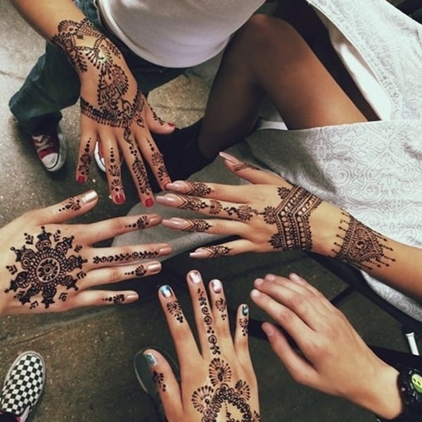 175 Beautiful Henna Tattoo Ideas For Girls To Try At Least Once