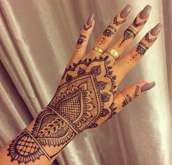 Black Henna Tattoo Tumblr: 99 Beautiful Henna Tattoo Ideas For Girls To Try At Least Once