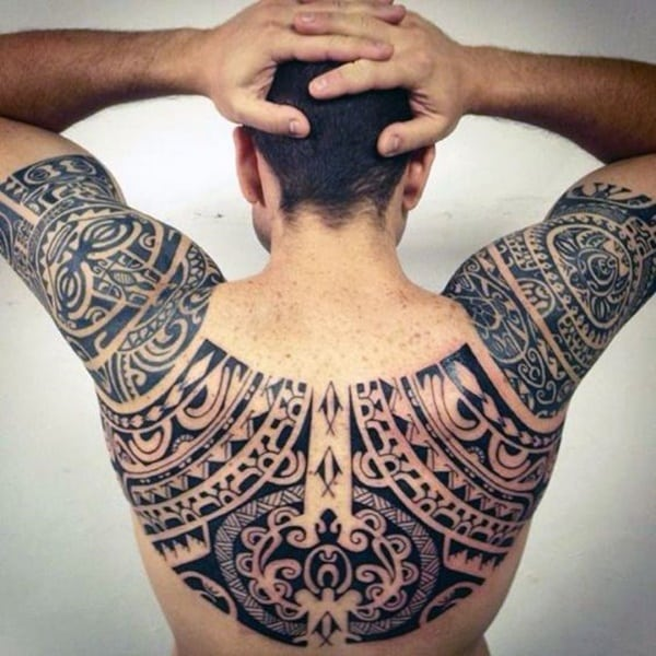 9dcaf519cee80 81 Tribal Maori tattoos For Inspiration