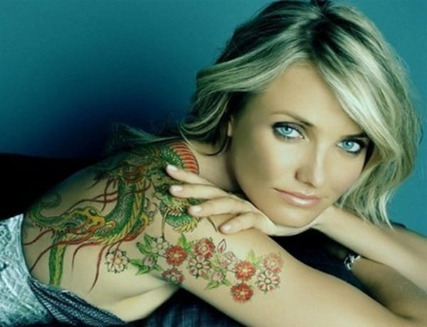 Celebrity Tattoos For Girls