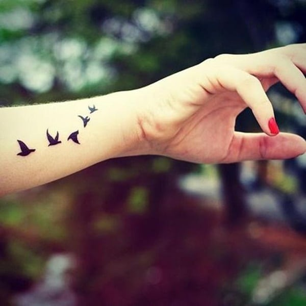 125 Adorable Bird Tattoo Designs For The Bird Lover
