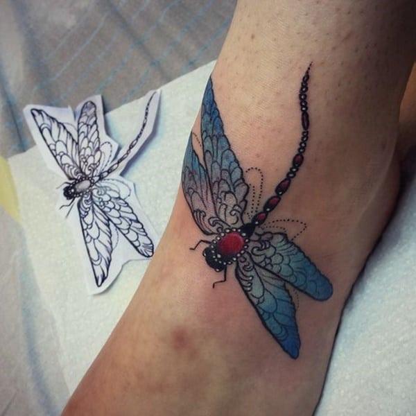 dragonfly tattoo design 27