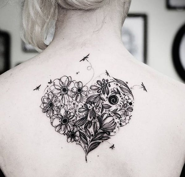 79 artistic dragonfly tattoo designs to ink sexy your body. Black Bedroom Furniture Sets. Home Design Ideas