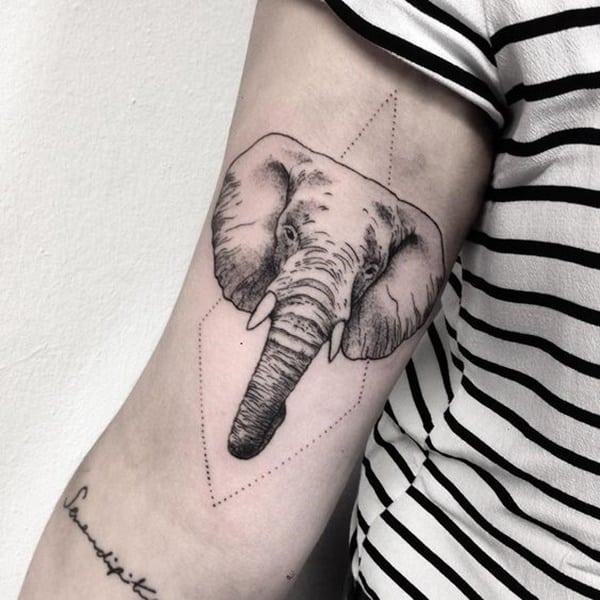 65 Badass Elephant Tattoo Ideas for Both Men and Women