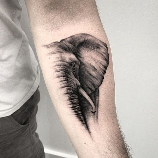 125 Badass Elephant Tattoos For Men And Women With Meanings