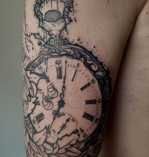 pocket-watch-tattoos-38