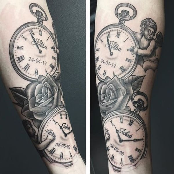 75 stunning antique pocket watch tattoos for your next ink